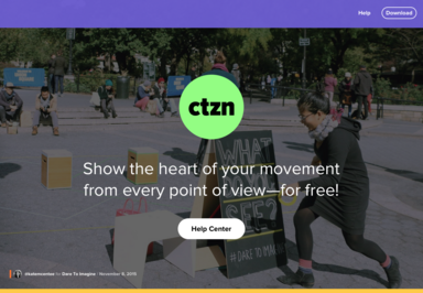 CTZN promotional web site