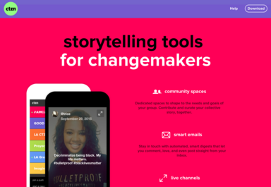 Storytelling tools for changemakers