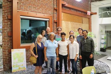 The Food Oasis team at La Kretz Innovation Campus