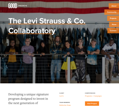 The Levi Strauss & Co. Collaboratory